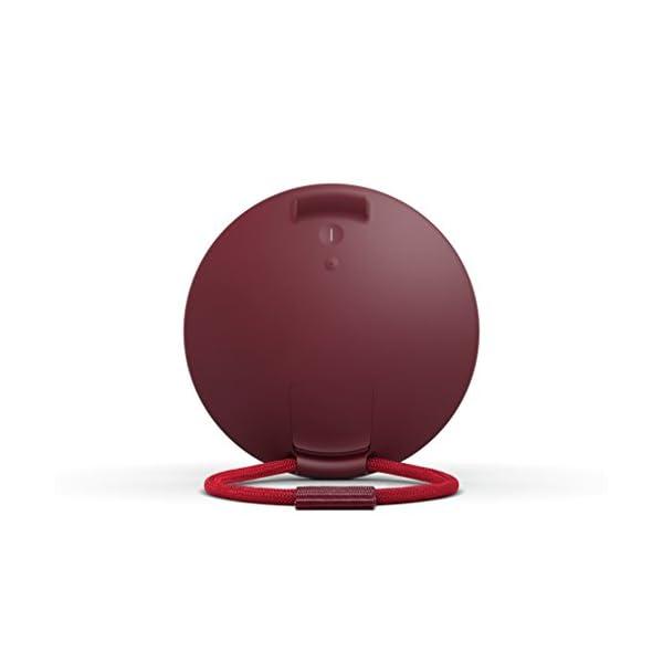 Ultimate EarsROLL2 Enceinte Bluetooth Ultraportable avec Flotteur, Waterproof et Antichoc - Bleu/Rouge 5