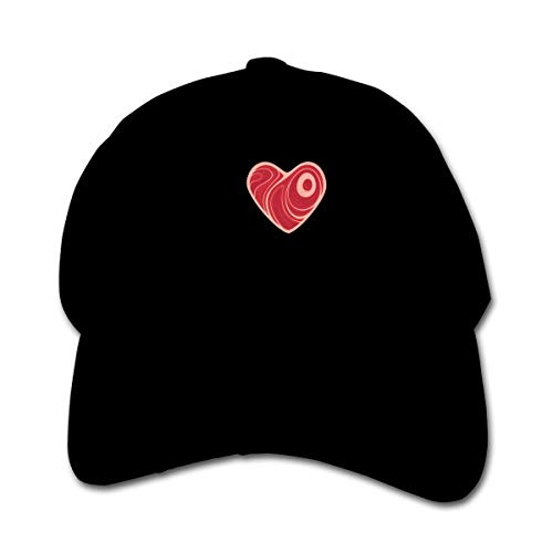 I Love Meat Kid's Peaked Hat Boys Girls Adjustable Baseball Cap