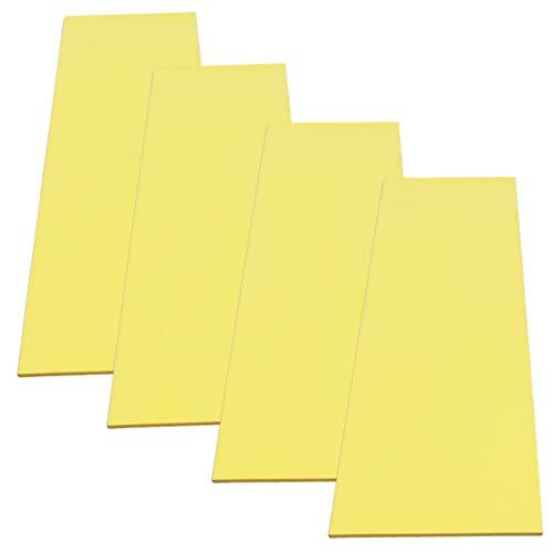 Cardinal Gates Flat Pole Padding (Yellow, 4-Count) ()
