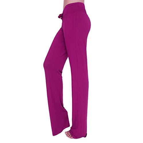 Tallas Pantalones Modal Rojo Yoga Y Pijamas La Agradable De Fitness Con Mujer Pilates Varias A Colores Para Piel Purpura modal BnBxrRAOwI
