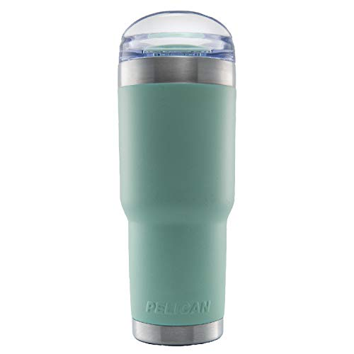Pelican Traveler 32oz Tumbler with Slide Lid - Thermos Steel Stainless Texas Longhorns