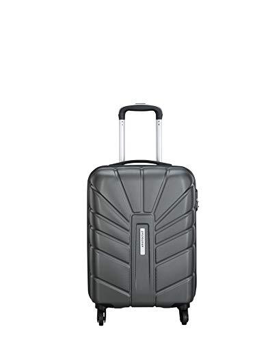 Aristocrat Polycarbonate 55 Cms Grey Hardsided Cabin Luggage (Sunrise)