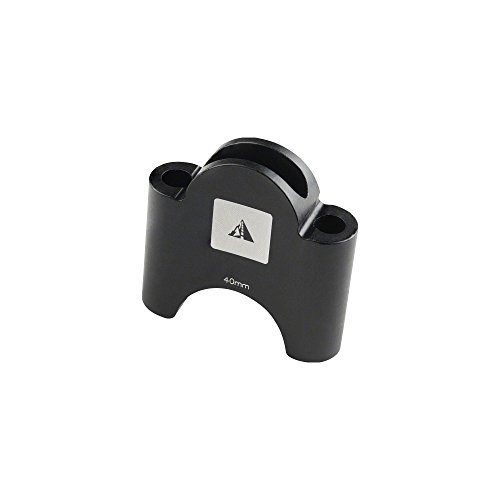Profile Designs Aerobar Bracket Riser Kit Black, 40mm