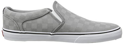 Grigio Alloy white Uomo Asher Deluxe check Sneaker Infilare Jacquard Rd3 Vans qZ64Tx