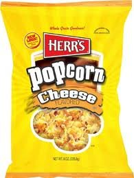 Herrs Popcorn Cheeze Flavored 1 Oz Pack Of