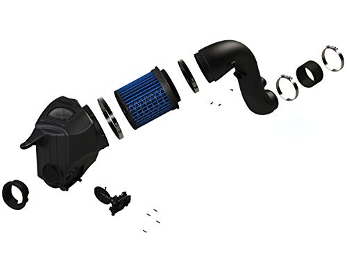 aFe 50-72005 Momentum HD Pro 10R Stage-2 Si Intake System for RAM Diesel Trucks L6-6.7L ()