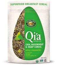 (Nature's Path Qi'a Chia Buckwheat and Hemp Cereal, Apple Cinnamon, 7.9-Ounce)