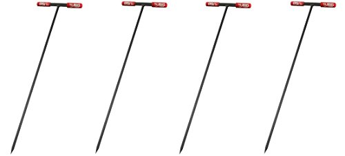 Bully Tools 99203 Soil Probe Steel Tstyle Handle, 48_inch (Pack of 4) by Bully Tools