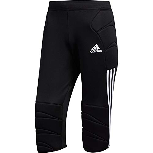 (adidas TIERRO 13 Goalkeeper 3/4 Pant Padded Trouser for Soccer)