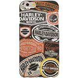 Harley-Davidson iPhone 6 Allover Tags Print TPU Phone Shell
