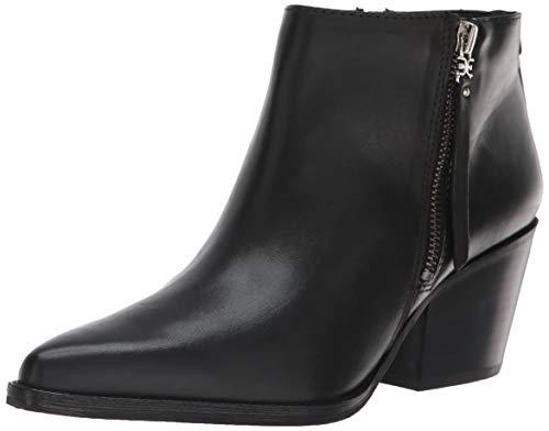 Sam Edelman Women's Walden Ankle Boot, Black Leather, 7.5 M US