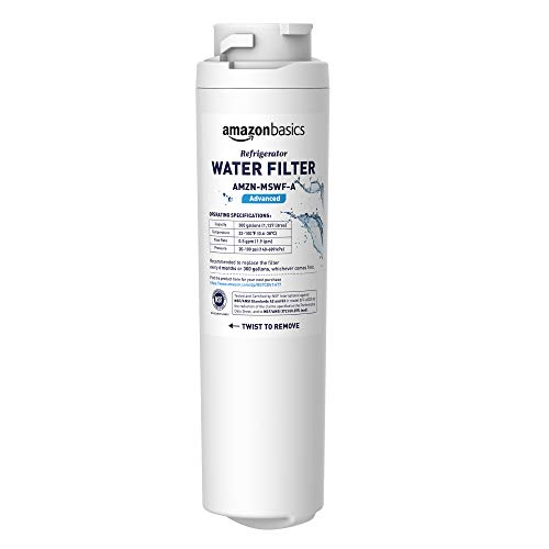 AmazonBasics Replacement GE MSWF Refrigerator Water Filter Only $9.99 (Was $19.99)
