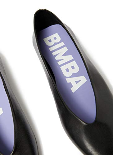 Leather Femme Ballerina Black Lola Bimba Y V cut 182bz0421 ZpqCII