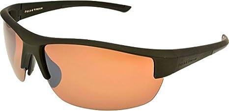 31e1ae447 Amazon.com: Field & Stream Pointer Polarized Sunglasses (Green ...