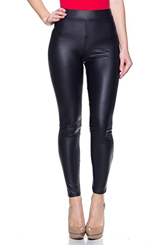 Cemi Ceri J2 Love Made In USA Sexy Stretchy Faux Leather Leggings (up To 5X) by Cemi Ceri (Image #4)'