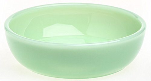 - Plain & Simple Pattern - Multi Size Bowls - Jade Jadeite Jadite Green Glass - Mosser Glass - USA (Medium)