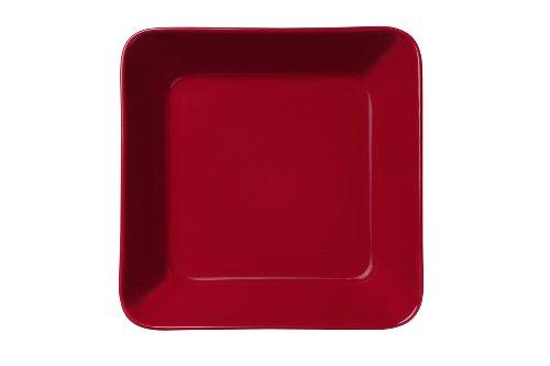 Iittala Teema Red Square Vegetable (Red Square Vegetable Bowl)