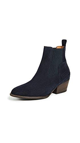 Cacciatori Stivali Da Donna Raffinati Stivali Chelsea Blu
