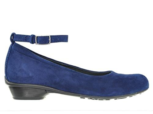 Goat Suede 40820 Confort 07952 Ocean Wolky Cour nbsp;monelli Chaussures q0vWX8x