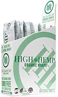Organic Wraps - Tobacco Free, Vegan, Non-GMO! 6 Flavors to Choose from: Grape Ape, Honey Pot Swirl, Maui Mango, Original, Hydro Lemonade, and Blazin Cherry! (Original, 25 Packs) by H&H