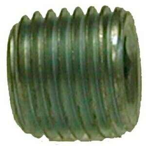 Midland Metal 66762 Steel 1/4 Galv C/S Hex Steel Plug (Pack Of 10)