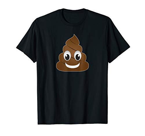 Funny Poop Emoji for Men, Woman and Kids T-Shirt