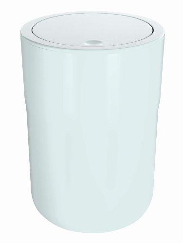 Spirella 10.17202 Abfall /Kosemetikeimer, Cocco, Weiß: Amazon.de: Küche U0026  Haushalt