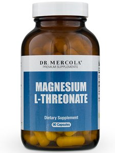 Dr. Mercola Magnesium L-Threonate 2 Pack - 90 Capsules Each 2,000 mg by Dr. Mercola