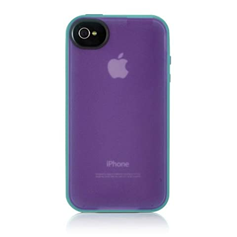 Belkin Essential Case for iPhone 4 / 4S (Purple / Blue) (Iphone 4 Belkin Essential)