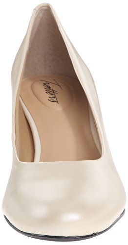 Us Nude Candela Women's W Patent Pump Trotters 6 Pearl White Dress 5 7TzqwIWIA