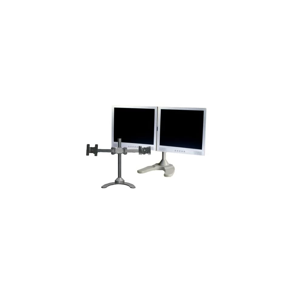 LCD 6460S Dual LCD Monitor Stand (Silver)