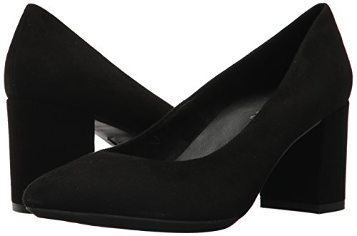 The Women's Suede Flexx Black Seriously Pump RRO6qwxr