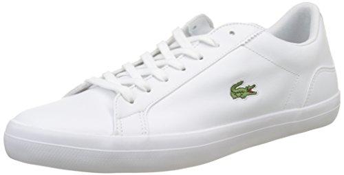 Lerond 001 Homme Lacoste Cam Baskets Wht 1 BL Blanc C84qvdU