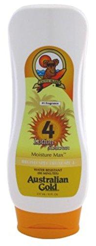 Australian Gold Spf#04 Lotion 8oz Moisture Max Sunscreen (2 Pack)