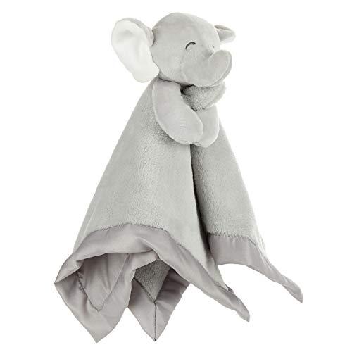 KIDS PREFERRED Carters Elephant Plush Stuffed Animal Snuggler Blanket - Gray