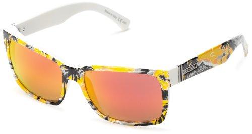 VonZipper Elmore Square Sunglasses,Gnarr-waiian & Orange,One - Buy Sunglasses Amazon