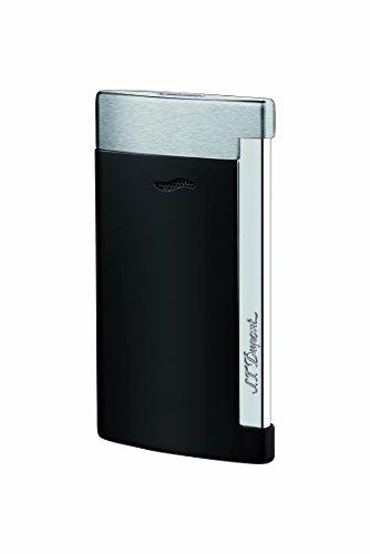 S.T. Dupont Slim 7 Lighter - Matte Black & Chrome