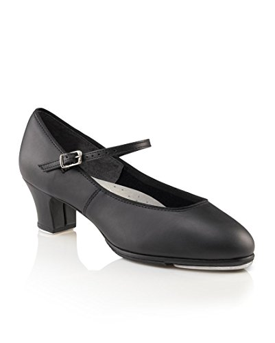 Capezio Women's Tap Jr. Footlight Tap Shoe,Black,8 M US