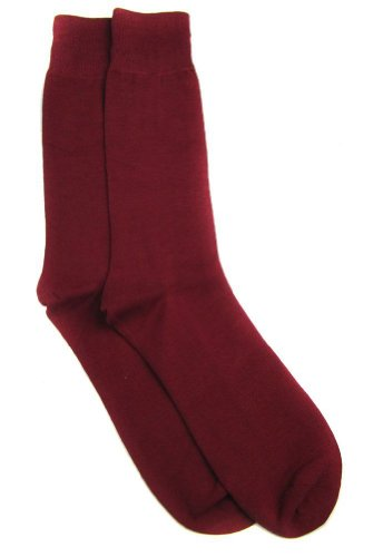 buy red dress socks - 4