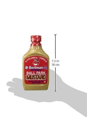 Bertman Original Ball Park Mustard, 16 oz from Bertman