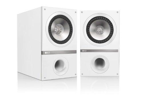 KEF Q100 Bookshelf Speakers White Pair 2 Way