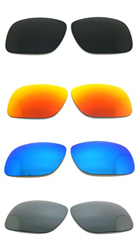 Set of 4 Polarized Replacement Lenses for Oakley Holbrook Sunglasses - Holbrook Review