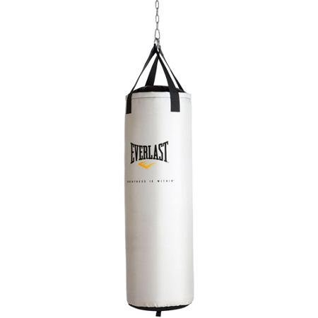 Everlast 60-Pound Platinum Premium Synthetic Leather Nevatear Heavy Bag (Synthetic Heavy Leather Bag)