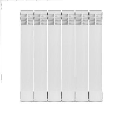 6 Section , Bimetal, Wall-hung ,Aluminum Heating Radiator. by Yanex Industries (Image #1)