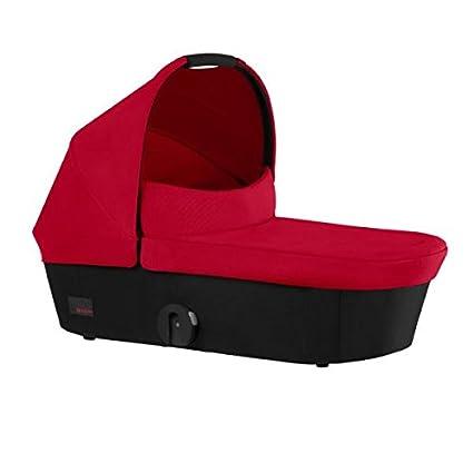 Cybex - Capazo mios para coche de paseo rojo