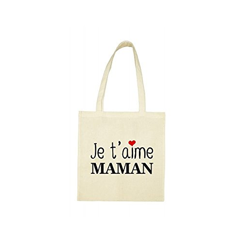 beige bag t je Tote maman aime qUzvnwH