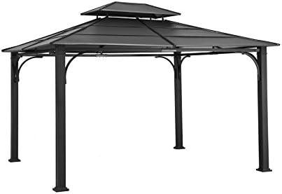 Sunjoy 10' x 12' Galvanized Steel Hardtop Gazebo