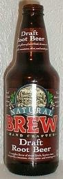 Natural Brew Soda, Draft Root Beer, 12 Oz, 4 Count per Case (Pack of ()