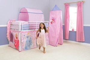 Disney Princess Mid-Sleeper/Cabin Bed Tent Pack : cabin bed tent pack - memphite.com