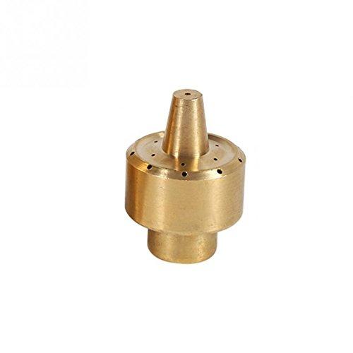 1Pcs 1/4''/1/2''/3/4'' Brass Garden Pond Fountain Water Nozzle Sprinkler Spray Head DN8 by Ground Sprinklers